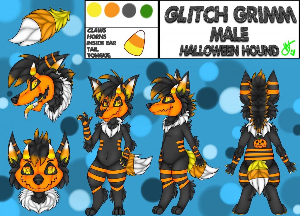 {C} Glitch Grimm