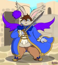 Fat 'n Fancy Mog Knight
