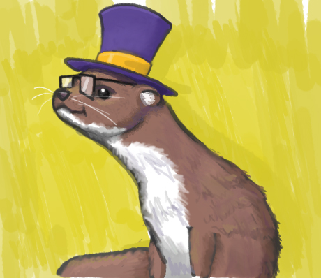 Most recent image: A weasel in time
