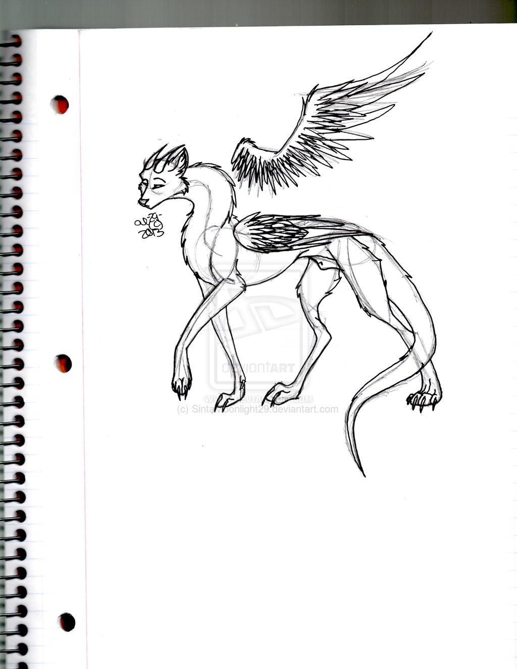 Cal Feral Sketch - Gift Art #2