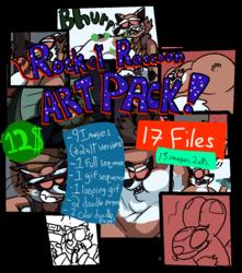 ROCKET RACCOON FETISH ART PACK! [12$]