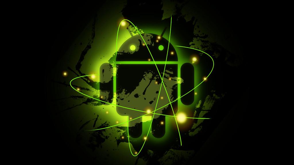 Radioactive Android Wallpaper