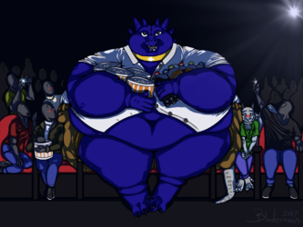[YCH] - Ready for the movies!