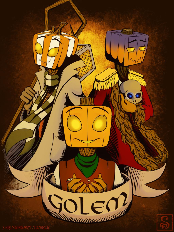 Commission: Pumpkinheads