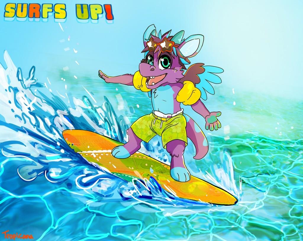 *GIFT* Surfs up