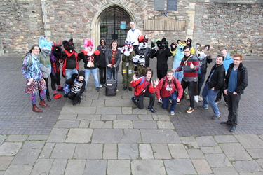 Bristol Furmeet December 2015 Group Photo