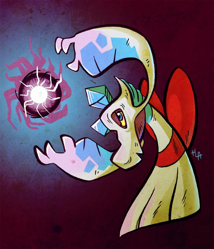 Froslass used Shadow Ball!