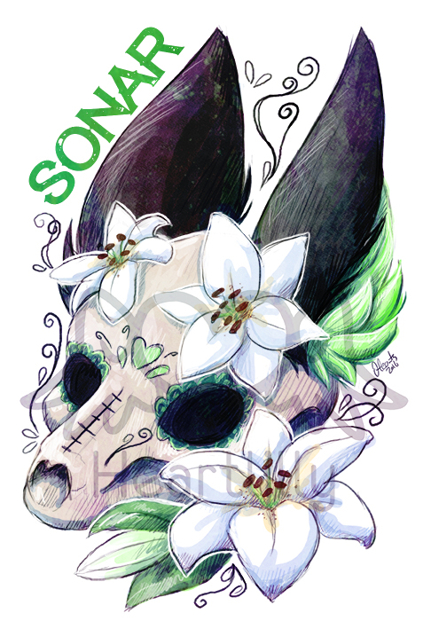 Sonar DOD Badge - By Stefi_Heartlilly