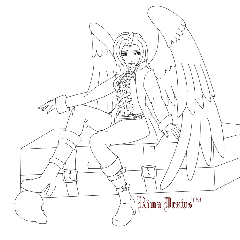 Most recent image: Ris Lineart