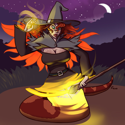 Witch Transformation