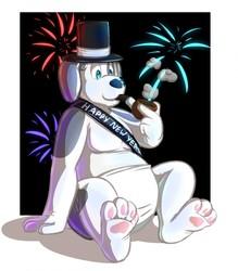 Shiny and Squeaky Barnaby New Year by Tallarra