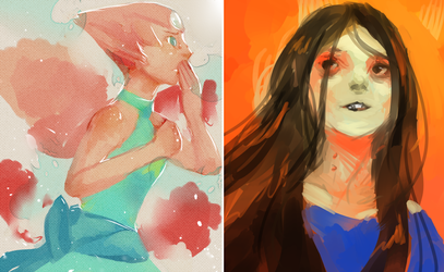 Pearl and Marceline