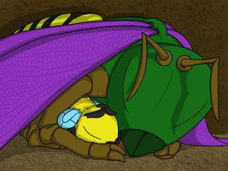 BW: Snuggle
