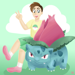 Trainer Riley and Figgy