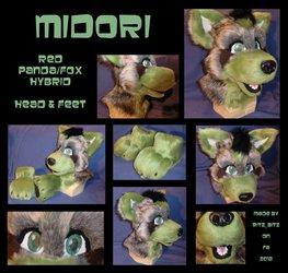 Midori Red Panda/Fox Set