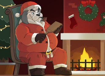 Sorting The Naughty List by Bluewhale
