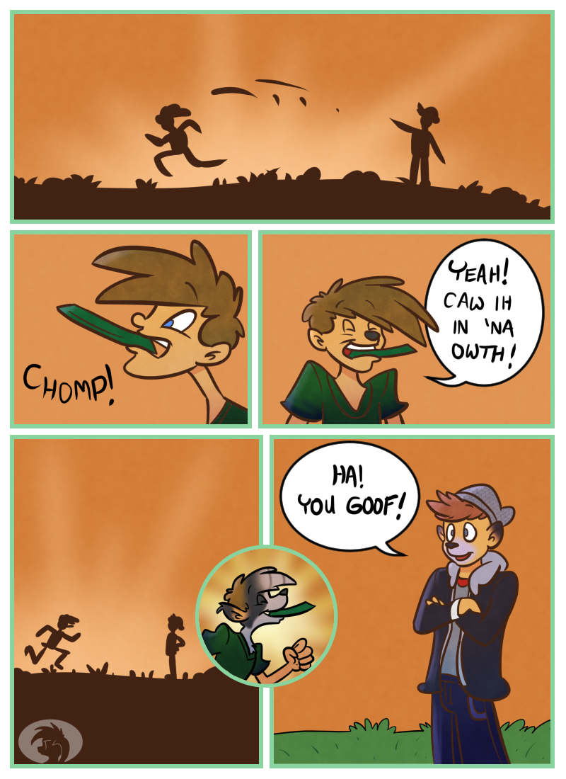 Frisbee Time page 1