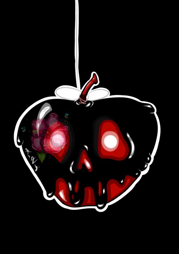 Drawlloween '20 - #17 Poisoned Apple