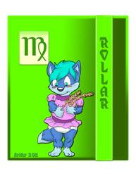 Babyfur Zodiac II: Virgo - Rollar ( diaper )