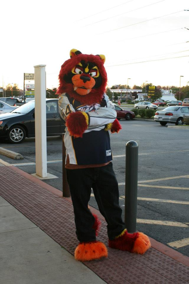 Inferno goes to work! Halloween 2012 - 2