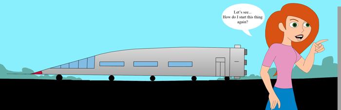 The rocket bus