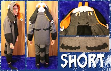 Comm: Short the Dragon Kigurumi