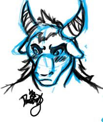 Sketch for Atraius Commish