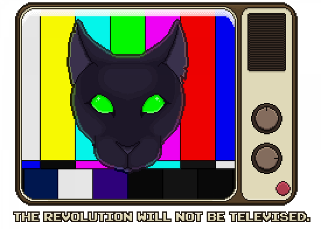 BLM - The Revolution Will Not Be Televised.