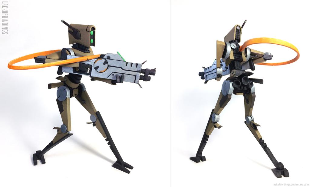 Rifle Droid - 3D Printed
