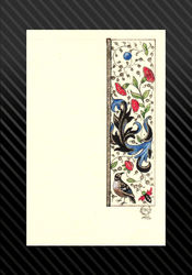 mary of Burgundy Tiny Bird Scroll