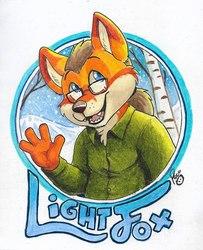 Lightfox badge