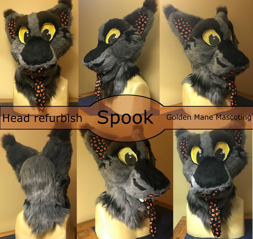 Spook Head Refurb