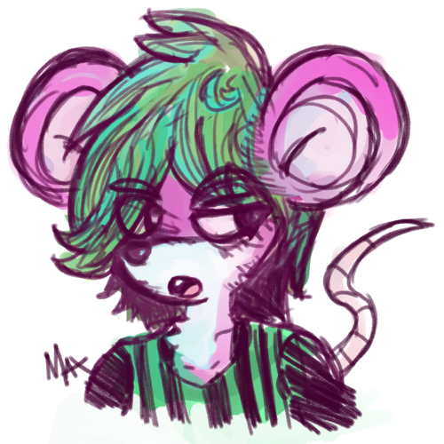 Most recent image: Messy Mouse