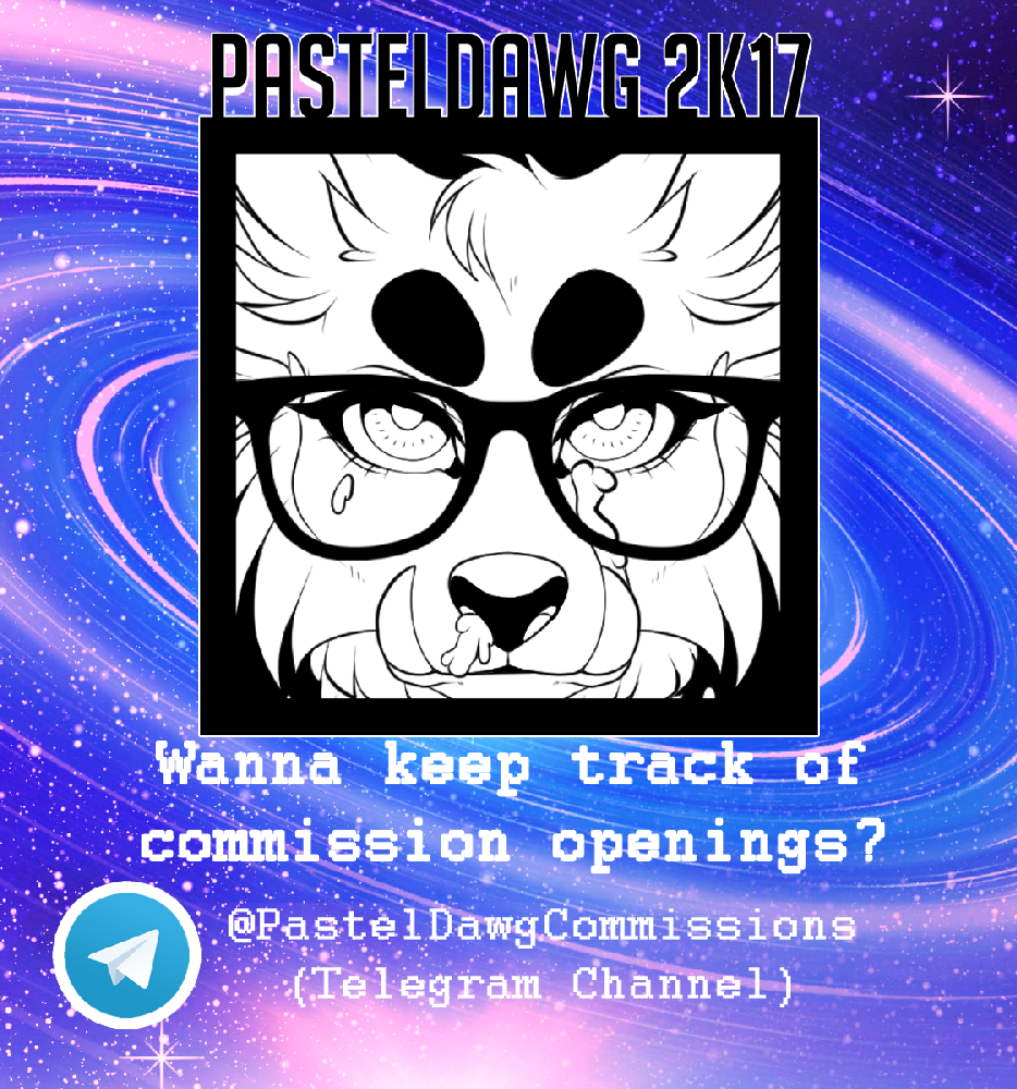 Most recent image: NEW COMMISSION TELEGRAM CHANNEL!