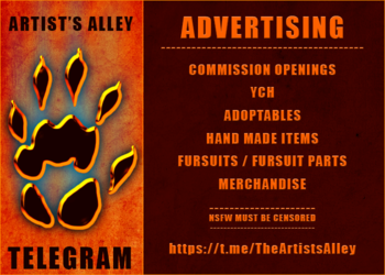 Telegram ~ Artist's Alley ~ Advertising