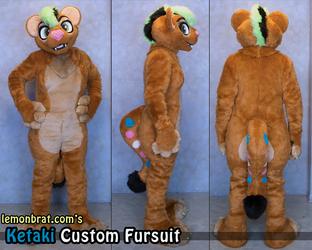 Ketaki Custom Fursuit