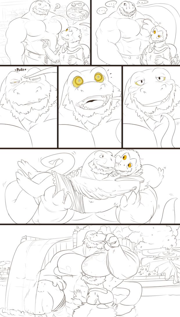 Vander's dinovember [4]