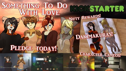 Something To Do With Love NOW ON KICKSTARTER!