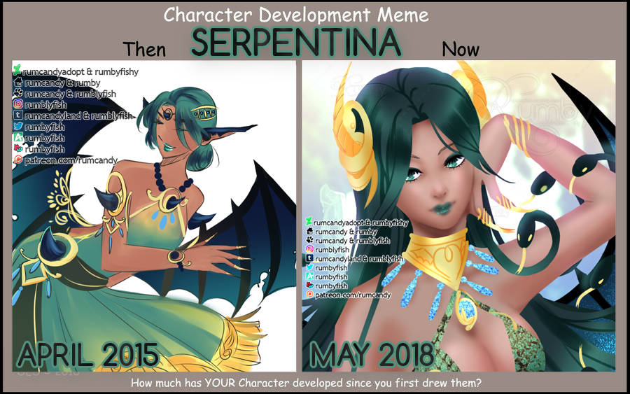 Character Development Meme Serpentina