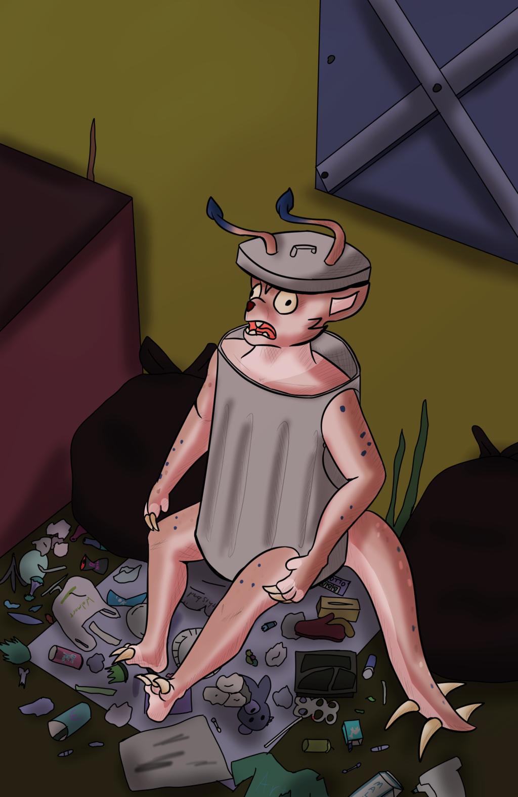 Art Fight attack 33 Trash
