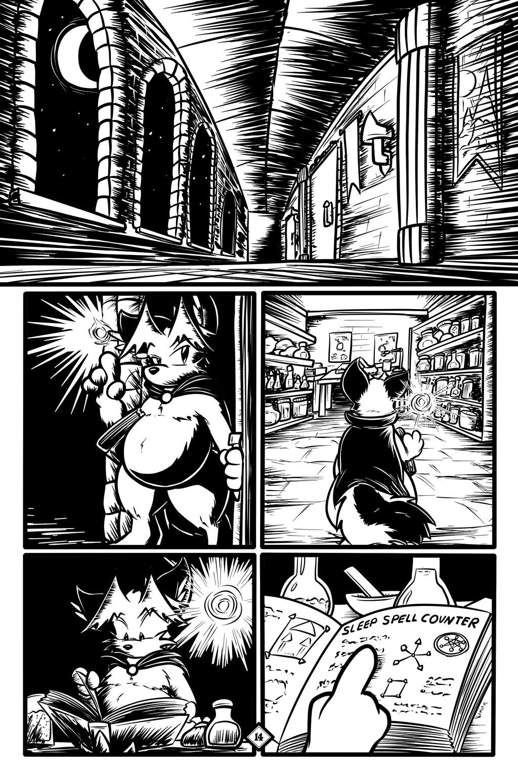 The Large Legend of Melbucon, page 14