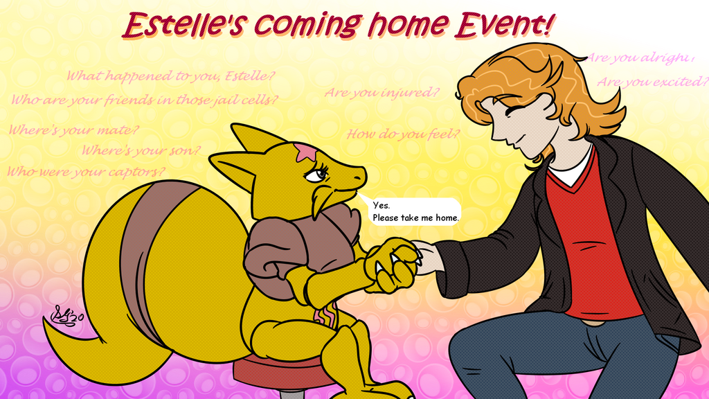 Estelle's coming home Event!