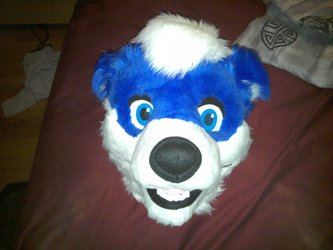 Fursuit Head Made by Moose