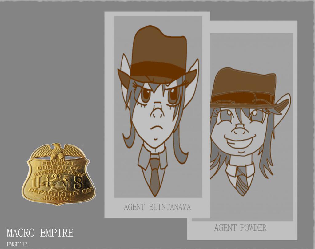 Agent Blintanama & Agent Powder