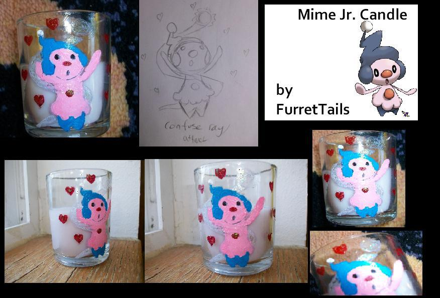 Mime Jr. Candle