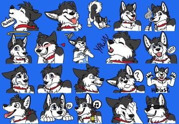 Telegram stickers - Sheppy