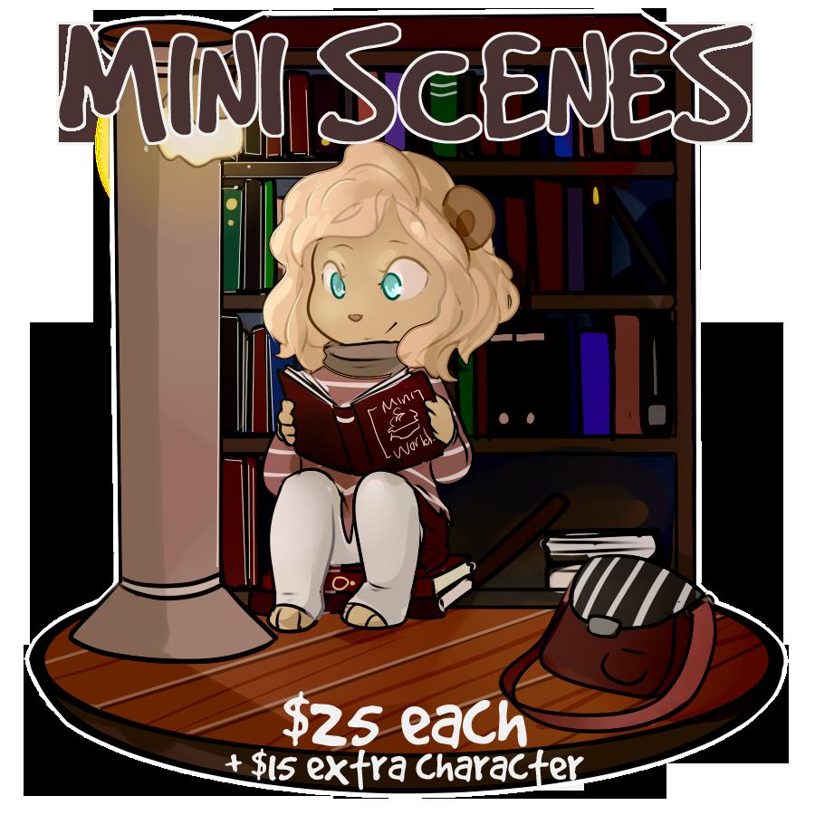 Mini Scene Sale! [ feb sale ]
