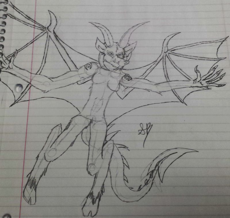 Ryuukin Flight Sketch
