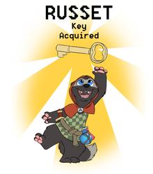 Russet Badge