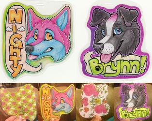 Brynn and Nighty ANE Badges 2016